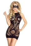 Provocative PR4712 Fishnet Dress | Angel Clothing