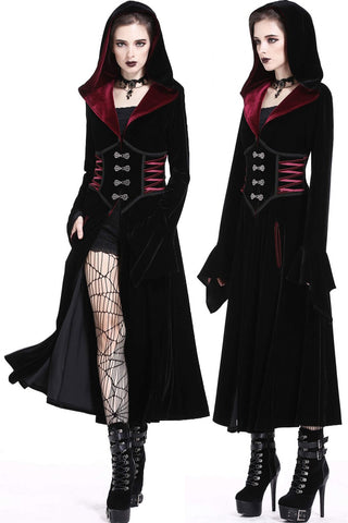 Dark in Love Aramantha Coat | Angel Clothing