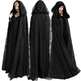 Punk Rave Black Widow Cloak Y-629 | Angel Clothing