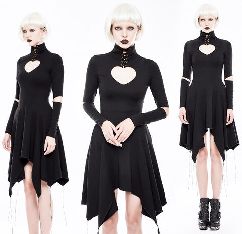 Punk Rave Dead Romance Dress - Angel Clothing