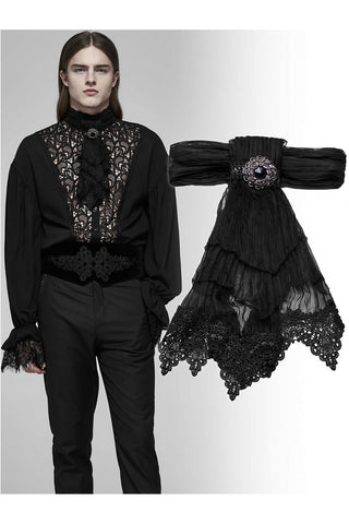 Punk Rave Gothic Romeo Jabot | Angel Clothing