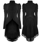 Punk Rave Victorian Lace Tailed Jacket Y-831 | Angel Clothing