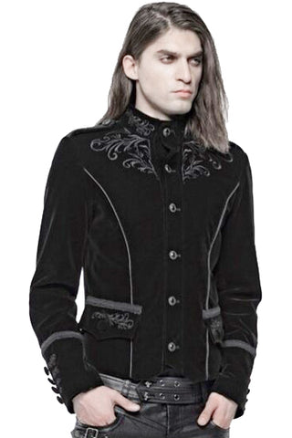 Punk Rave Hamlet Black Jacket | Angel Clothing