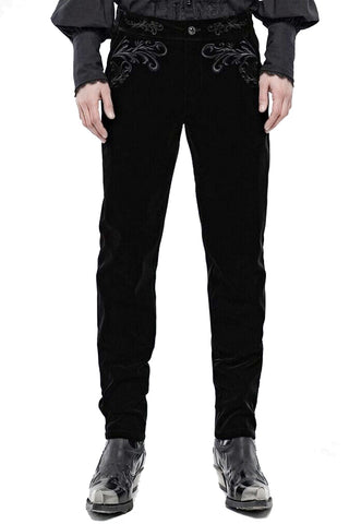 Punk Rave Hamlet Black Trousers | Angel Clothing