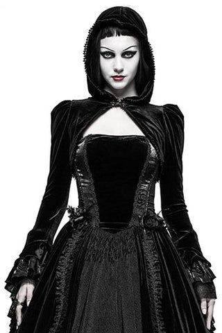 Punk Rave Lady Amaranth Shrug | Angel Clothing