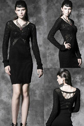 Punk Rave Lamentation Gothic Dress, M-027 - Angel Clothing