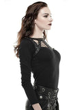 Punk Rave Layla Top Black | Angel Clothing