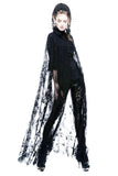 Punk Rave Lilith Black Cape | Angel Clothing