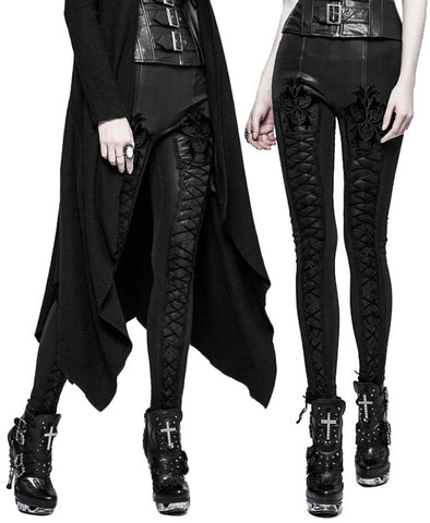 Punk Rave Nocturn Gothic Leggings | Angel Clothing