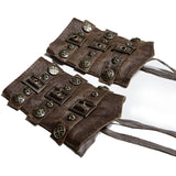 Punk Rave Pair Of Bedouin Steampunk Wristbands S-200 | Angel Clothing