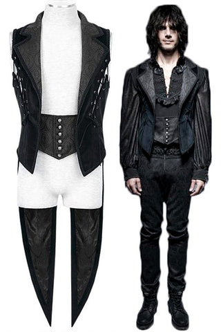 Punk Rave Prince of Persia Waistcoat Y-648 - Angel Clothing