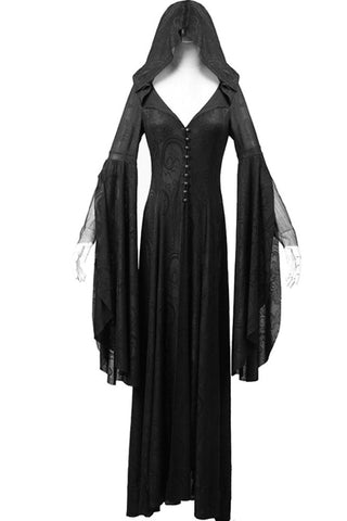 Punk Rave Theatre of Tragedy Long Gown / Coat  Y-510 - Angel Clothing