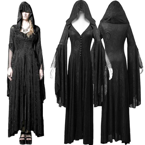Punk Rave Theatre of Tragedy Long Gown / Coat  Y-510 | Angel Clothing