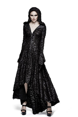 Punk Rave Witchcraft Hooded Dress Q-308 | Angel Clothing
