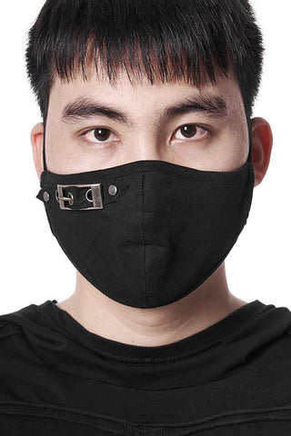 Punk Rave Buckle Face Mask | Angel Clothing