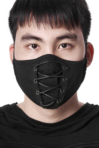 Punk Rave Laced Face Mask | Angel Clothing