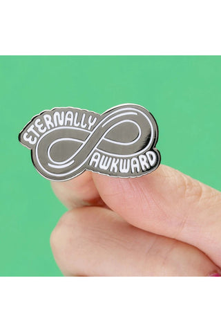 Punky Pins Eternally Awkward Enamel Pin | Angel Clothing