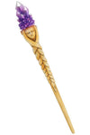 Purple Crystal Goddess Wand | Angel Clothing