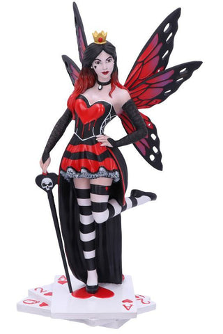 PRE-ORDER Queen of Hearts Fairy Figurine | Angel Clothing