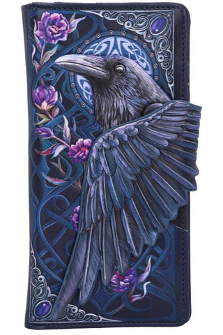 PRE-ORDER Ravens Flight Embossed Purse