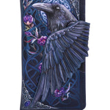 PRE-ORDER Ravens Flight Embossed Purse | Angel Clothing