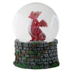 Red Baby Dragon Snow Globe | Angel Clothing