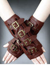 Restyle Armwarmers Steampunk Brown | Angel Clothing