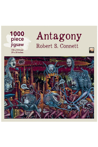 Robert S Connett Antagony 1000 Piece Jigsaw Puzzle | Angel Clothing