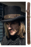 RQBL Steampunk Top Hat Belt | Angel Clothing