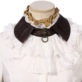 RQBL  White Jabot and Wristbands | Angel Clothing