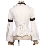 Beladonna White Jabot and Wristbands | Angel Clothing