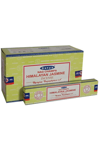 Satya Himalayan Jasmine Nag Champa Incense Sticks | Angel Clothing