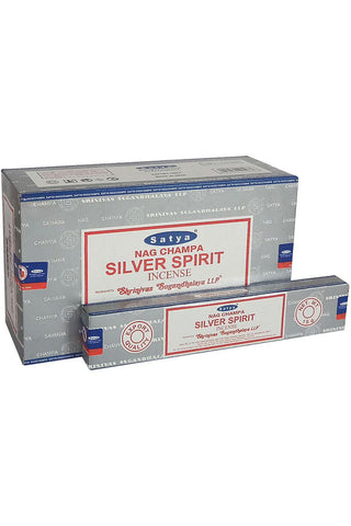 Satya Silver Spirit Nag Champa Incense Sticks | Angel Clothing