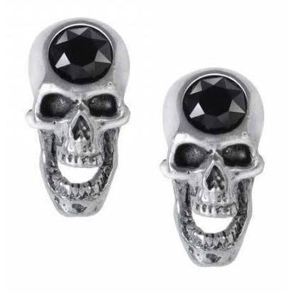Alchemy Screaming Skull Studs E427 | Angel Clothing