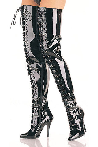 Pleaser SEDUCE 4026 Boots | Angel Clothing