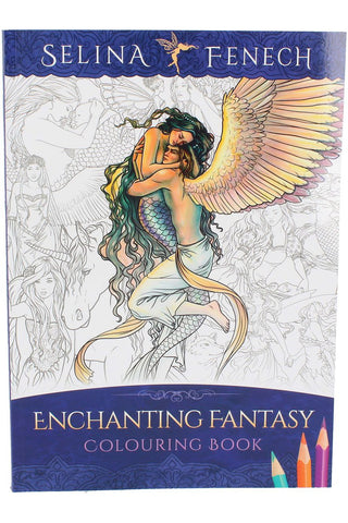 Selina Fenech Enchanting Fantasy Colouring Book | Angel Clothing