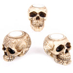 Skull Tea Light Holder B | Angel Clothing