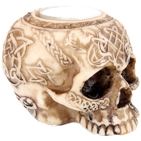 Skull Tea Light Holder C | Angel Clothing