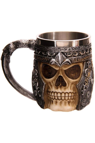 Skull Warrior Tankard | Angel Clothing