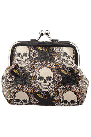 Skulls and Roses Tic Tac Purse | Angel Clothing