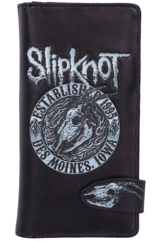 Slipknot Flaming Goat Embossed Purse | Angel Clothing