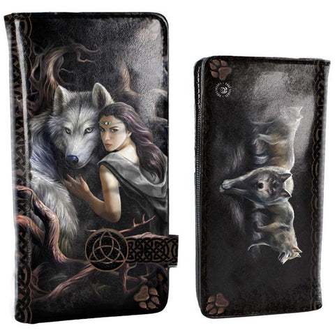 Soul Bond Embossed Purse by Anne Stokes 18.5cm - Angel Clothing