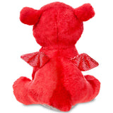 Sparkle Tales Flame Red Dragon 7 inch Plush | Angel Clothing