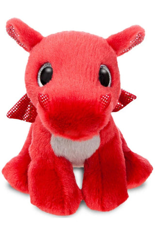 Sparkle Tales Flame Red Dragon Plush | Angel Clothing