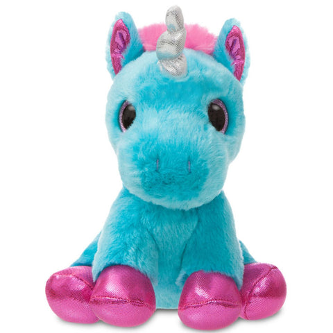 Sparkle Tales Moonbeam Unicorn 7 inch Plush - Angel Clothing