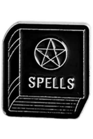 Spell Book Gothic Pin | Angel Clothing