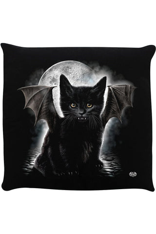 Spiral Bat Cat Cushion | Angel Clothing