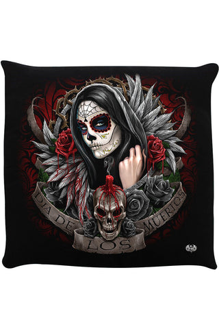 Spiral Muertos Dias Cushion | Angel Clothing