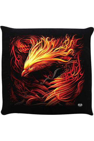 Spiral Phoenix Arisen Cushion | Angel Clothing