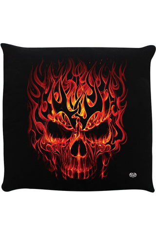 Spiral Skull Blast Cushion | Angel Clothing
